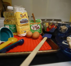 All the ingredients for treat making