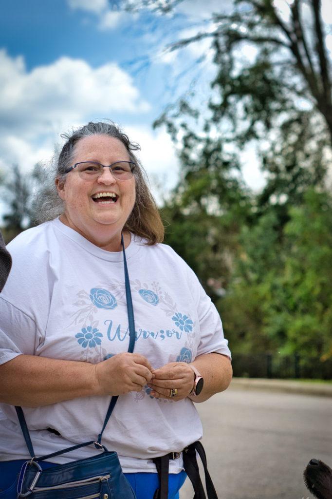 Christi shows the joy she embodies!